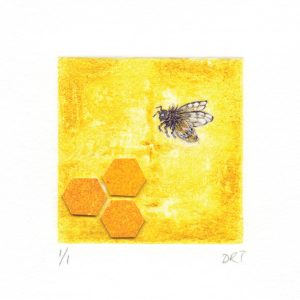 Bee-greeting-card-Deborah-Treliving-contemporary-British-artist