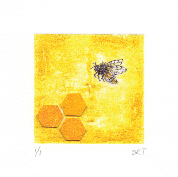 Greeting cards square deborah treliving bee greeting card deborah treliving contemporary british artist m4hsunfo